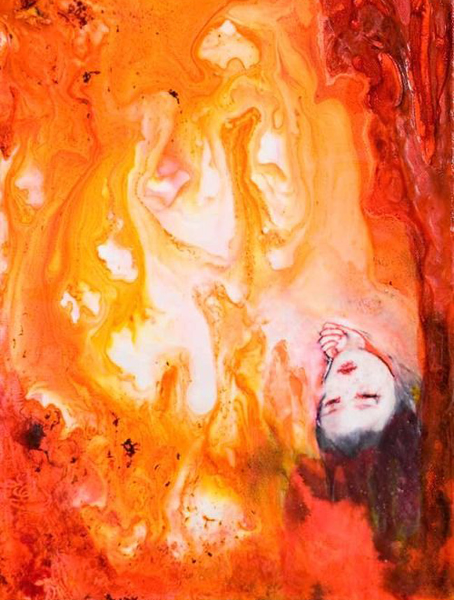 Penny Siopis (1953) Little Flame